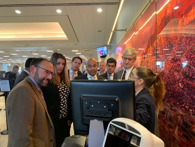 The Board observed an airport facial recognition pilot program as part of its biometrics in aviation security oversight project.